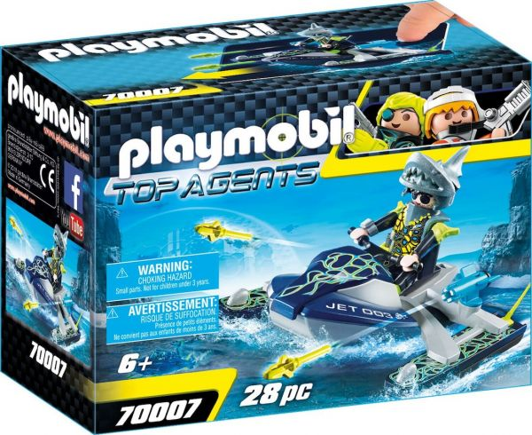 PLAYMOBIL® 70007 - TEAM S.H.A.R.K. Rocket Rafter