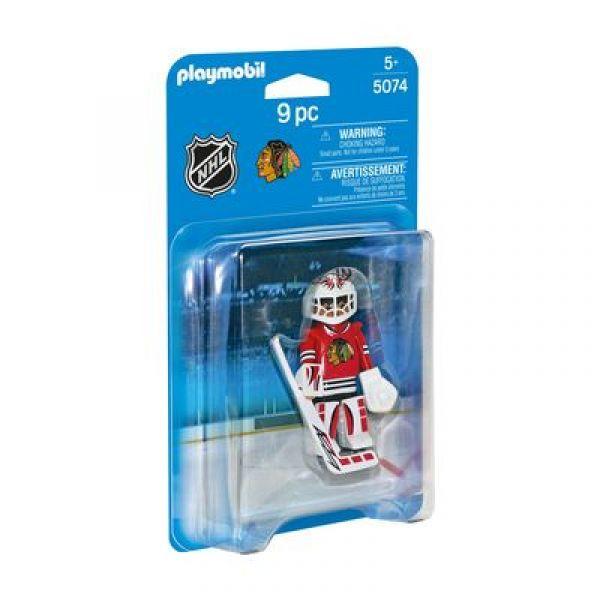 PLAYMOBIL® 5074 - NHL® Chicago Blackhawks Goalie