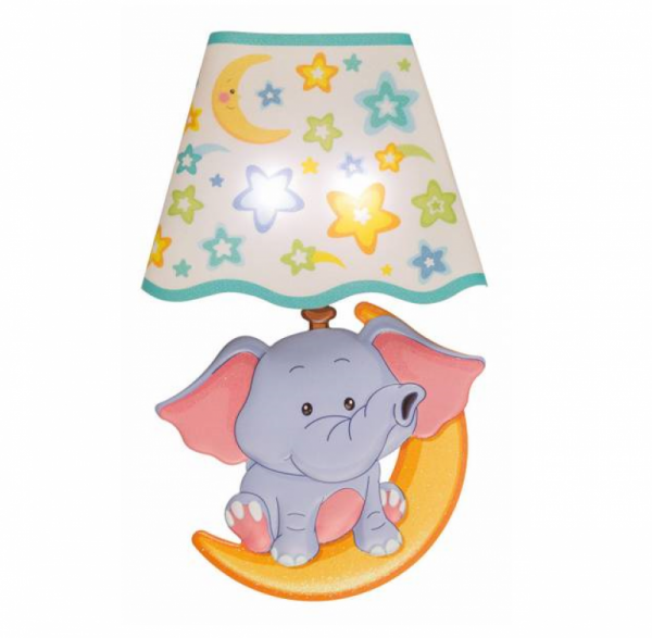 LED Wandsticker Lampe Elefant