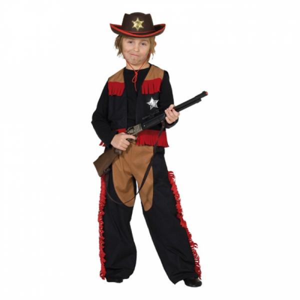Kinderkostüm - Cowboy Sheriff, Größe 164