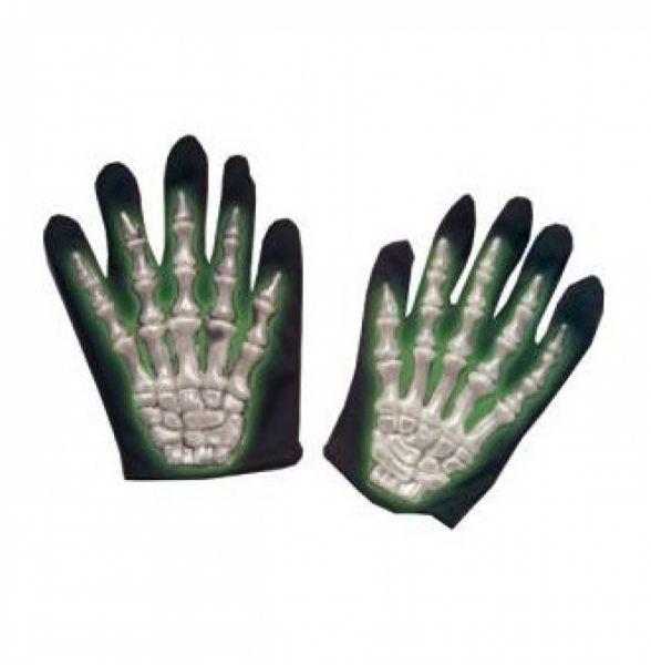 Kinderkostüm - 3D Skelett Handschuhe für Kinder