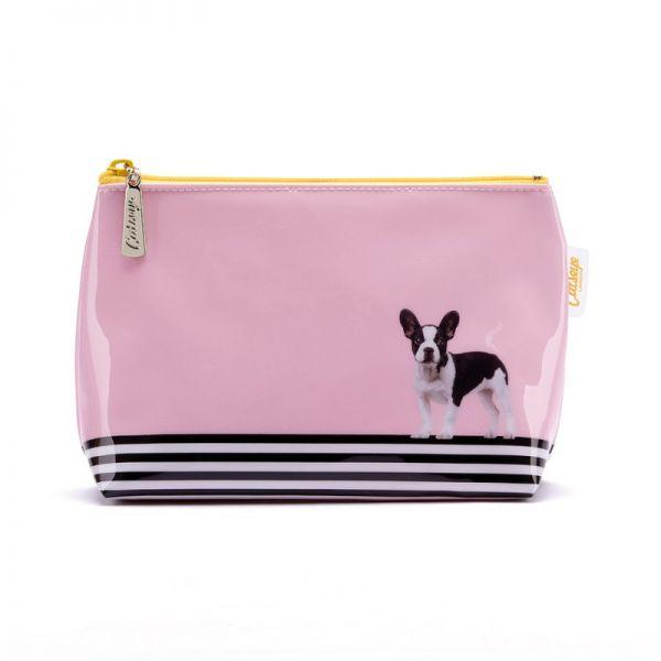 Catseye - Dog on Stripe Small Bag