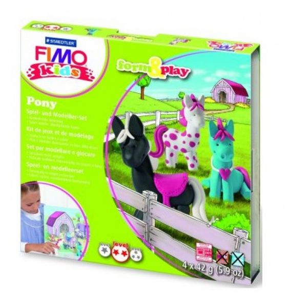 Staedtler - Fimo Kids Form & Play Set Pony