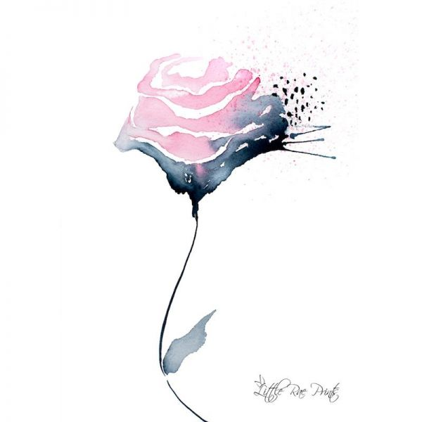 Little Rae Prints - Poster Rose