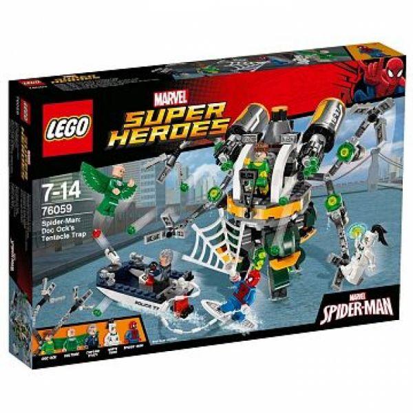 LEGO® Super Heroes 76059 - Spider-Man: Doc Ocks Tentakelfall