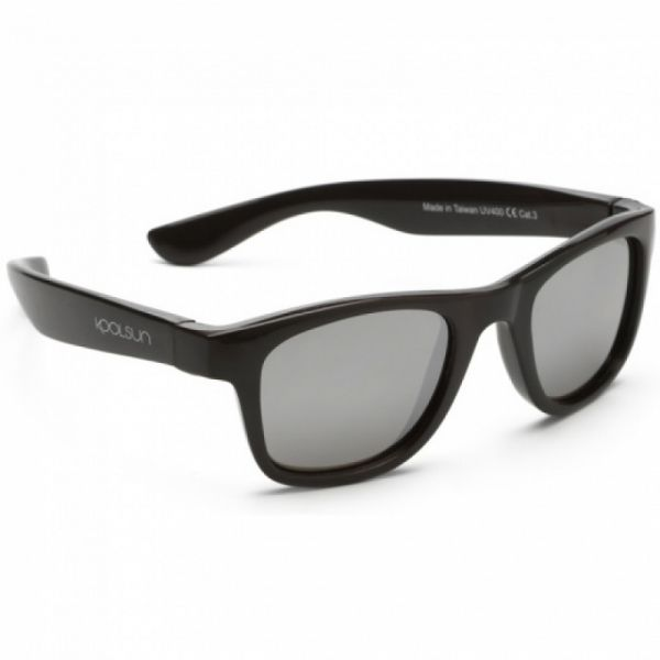 Koolsun - Kindersonnenbrille Wave Black Onyx