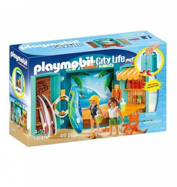 """PLAYMOBIL® 5641 - Aufklapp-Spiel-Box """"Surf Shop"""""""