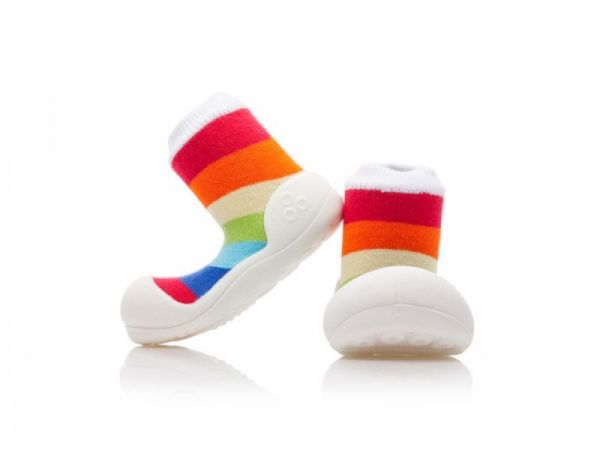 Attipas 33 - Rainbow Weiss