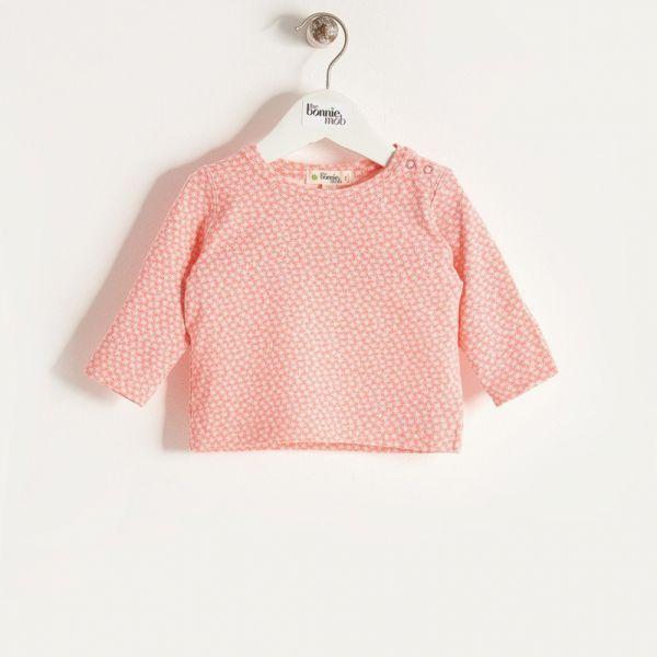 Bonniemob - Shirt Hash Tag sorbet