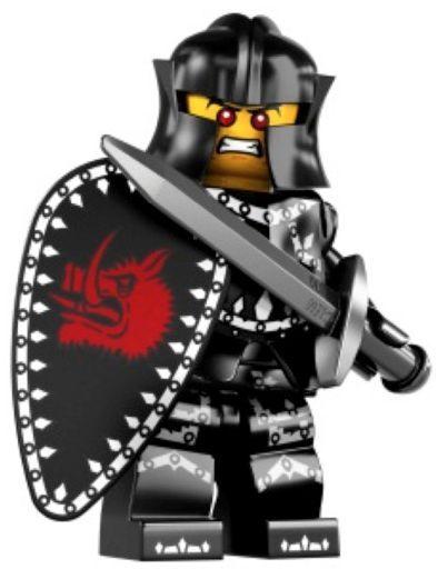 LEGO® Minifiguren Serie 7 - Nr. 14 Schwarzer Ritter