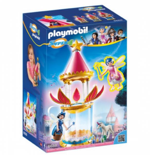 PLAYMOBIL® 6688 - Zauberhafter Blütenturm mit Feen-Spieluhr und Twinkle