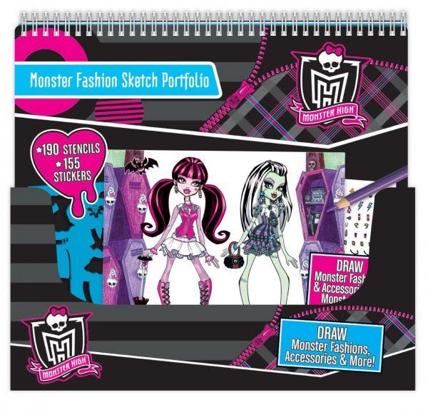 Monster High - Skizzenblock