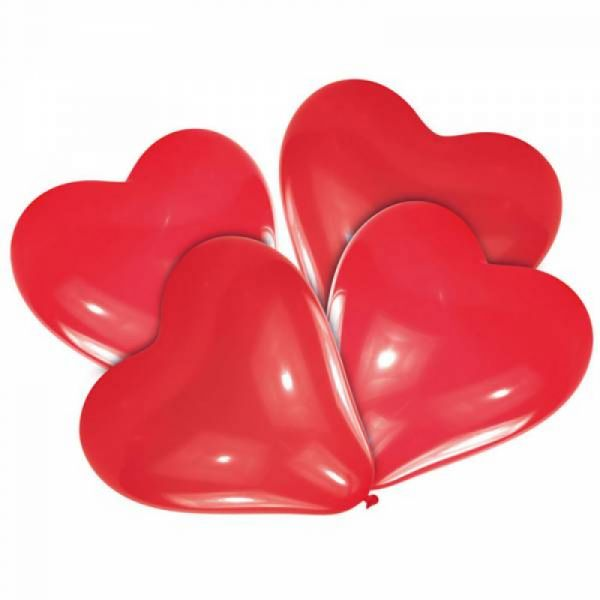 Herzballon 5 Stück