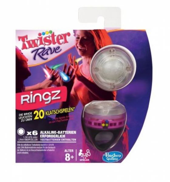 Hasbro - Twister Rave Ringz