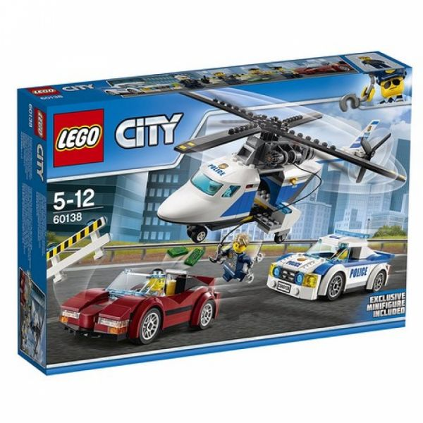 LEGO® City 60138 - Rasante Verfolgungsjagd
