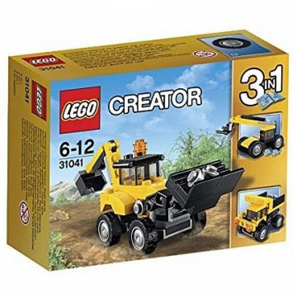 LEGO® Creator 31041 - Baufahrzeuge