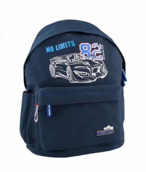 Monster Cars - Freizeitrucksack, blau