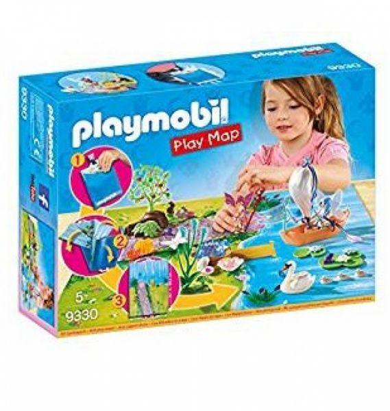 PLAYMOBIL® 9330 - Play Map Feenland, Spiel