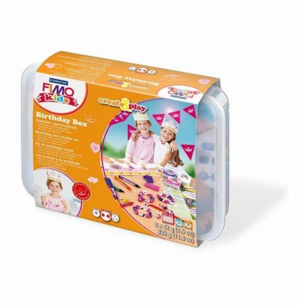 Staedtler - Fimo Soft Set Geburtstagsbox Prinzessin