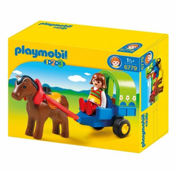 PLAYMOBIL® 6779 - Bunte Pferdekutsche