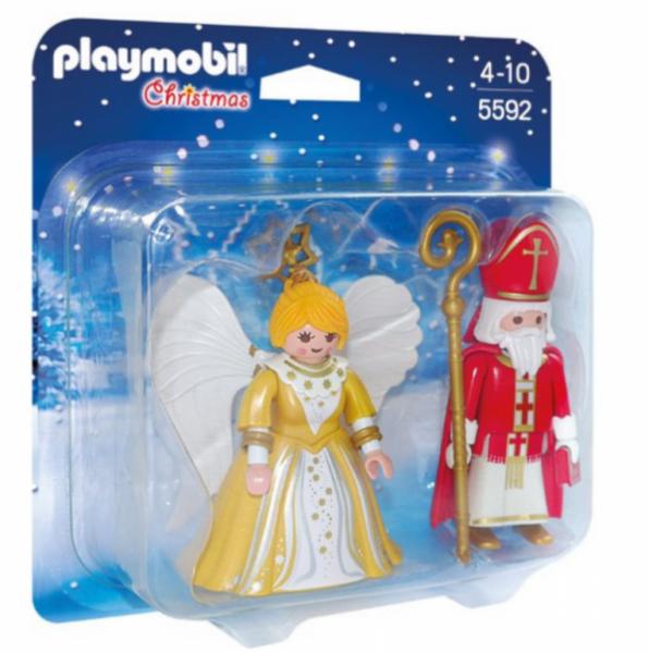 PLAYMOBIL® 5592 - St. Nikolaus und Weihnachtsengel