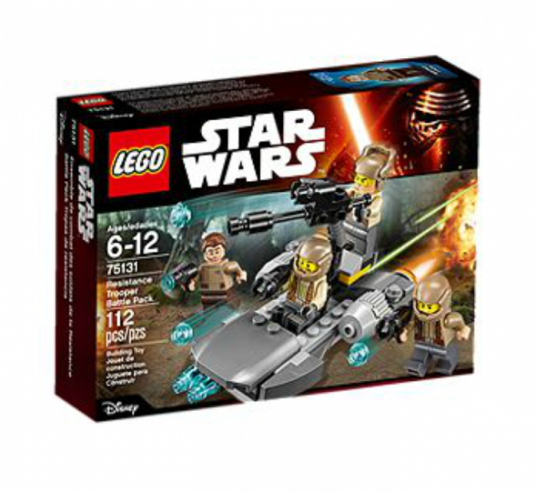 LEGO® Star Wars 75131 - Resistance Trooper Battle Pack