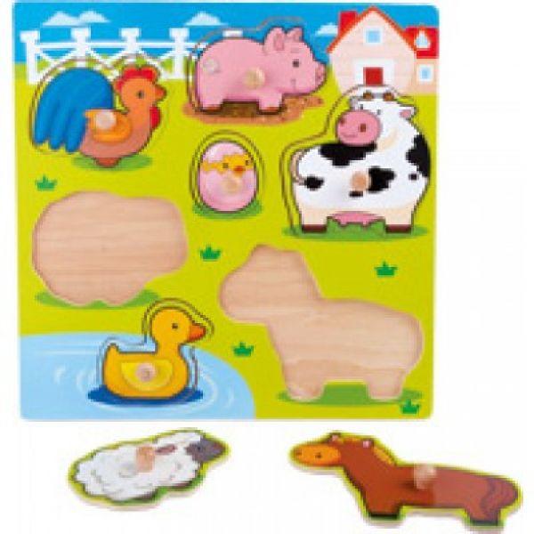 Small Foot - Setzpuzzle Süße Tiere