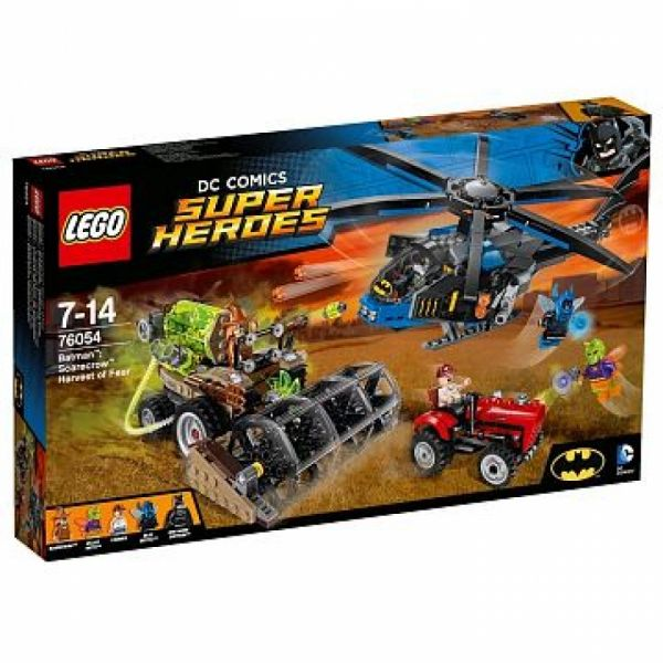 LEGO® Super Heroes 76054 - Batman™ – Batman Scarecrows gefährliche Ernte