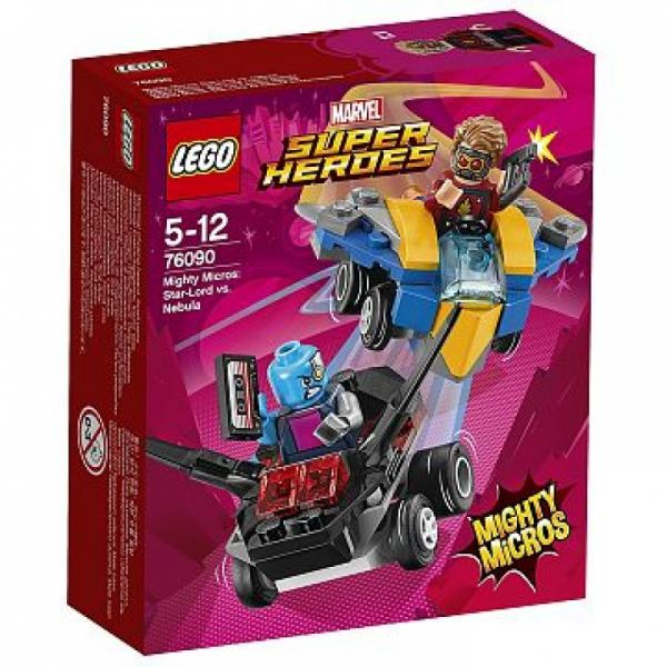 LEGO® Super Heroes 76090 - Mighty Micros: Star-Lord vs. Nebula