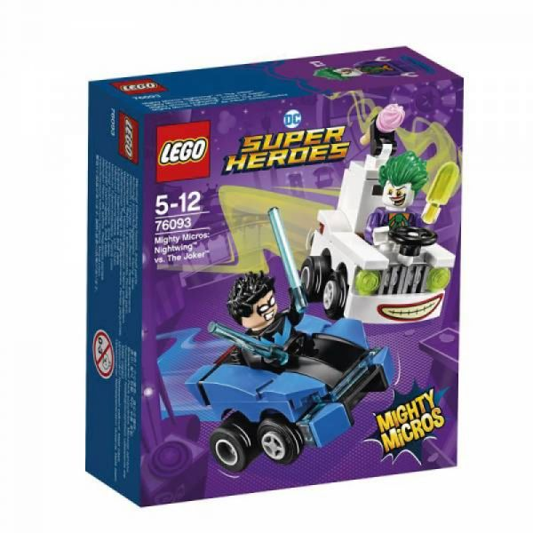 LEGO® Super Heroes 76093 - Mighty Micros: Nightwing vs. The Joker
