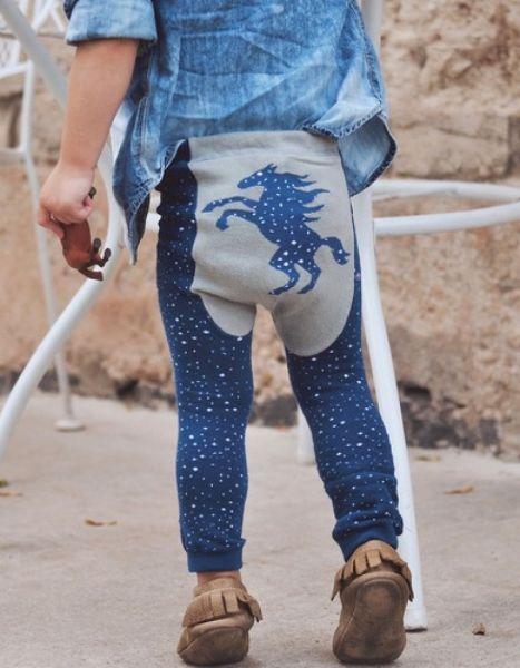 Doodle Pants - Celestial Pony Leggings