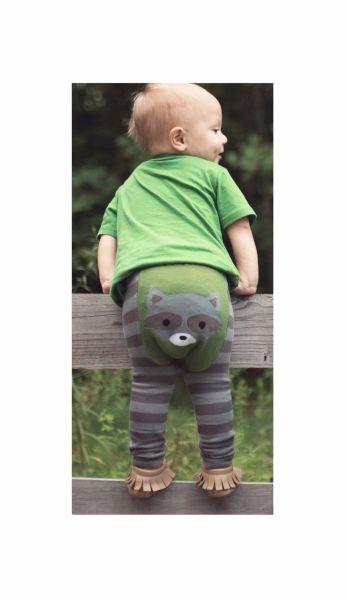 Doodle Pants - Waschbär Leggings