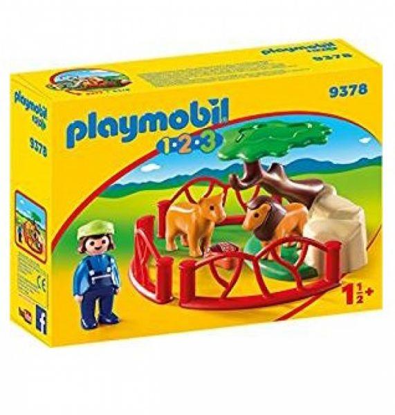 PLAYMOBIL® 9378 - Löwengehege