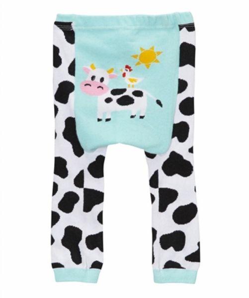 Doodle Pants - Blue Cow Leggings
