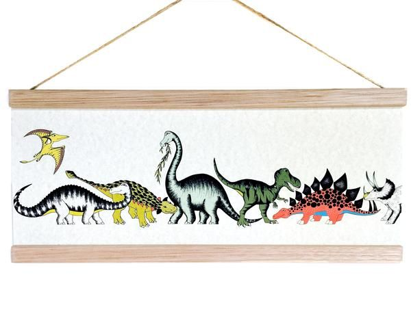 Dino Raw - Poster Dinosaur Gathering