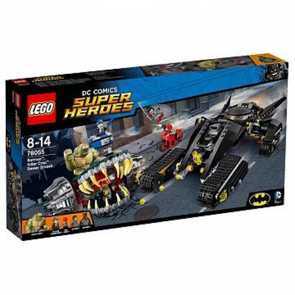LEGO® Super Heroes 76055 - Batman™ – Batman Killer Crocs Überfall in der Kanalisation