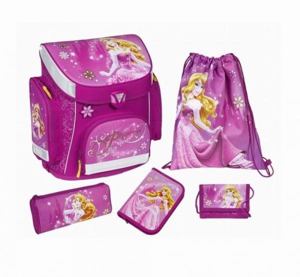 Undercover - Scooli Schulranzenset Disney Princess 5-teilig