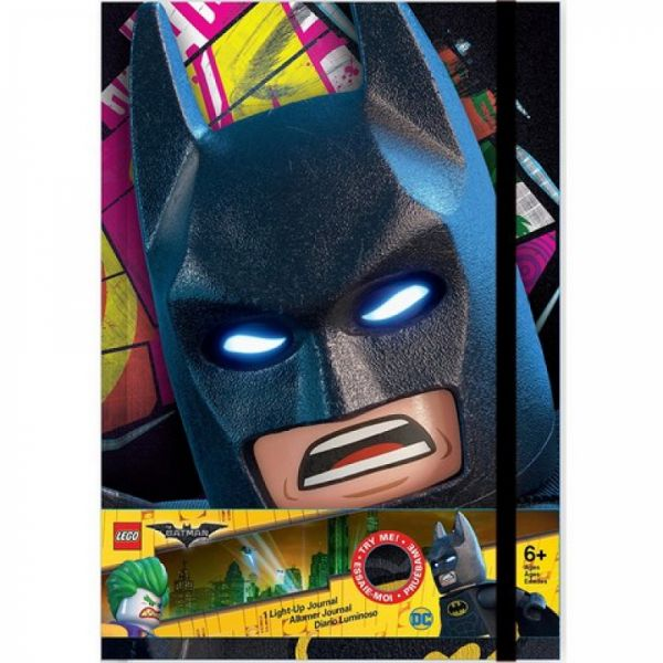 LEGO® Batman Movie - Notizbuch mit Leuchtaugen
