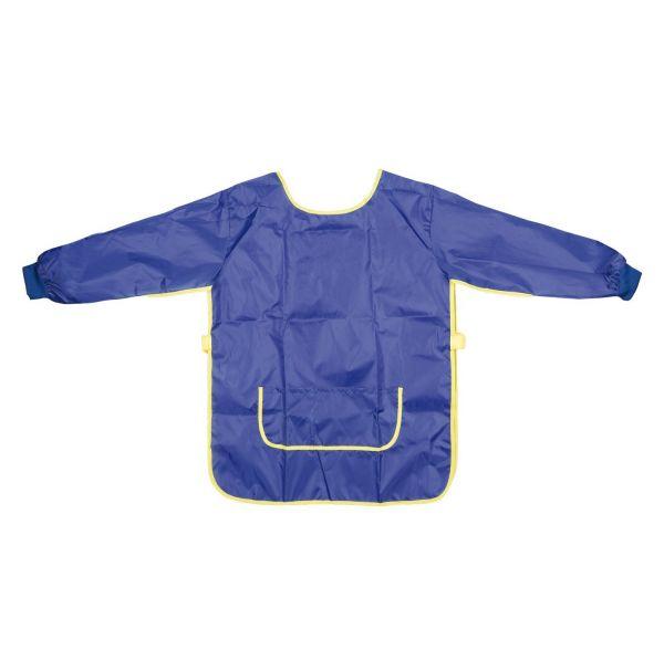 Idena - Bastelschürze (Malschürze) Blau mit Malunterlage