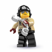LEGO® Minifiguren Serie 2 - Nr. 6 Verkehrspolizist