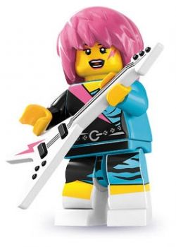 LEGO® Minifiguren Serie 7 - Nr. 15 Rockerin