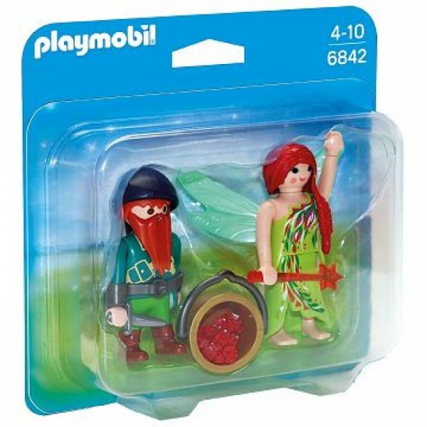 PLAYMOBIL® 6842 - Duo Pack Elfe und Zwerg
