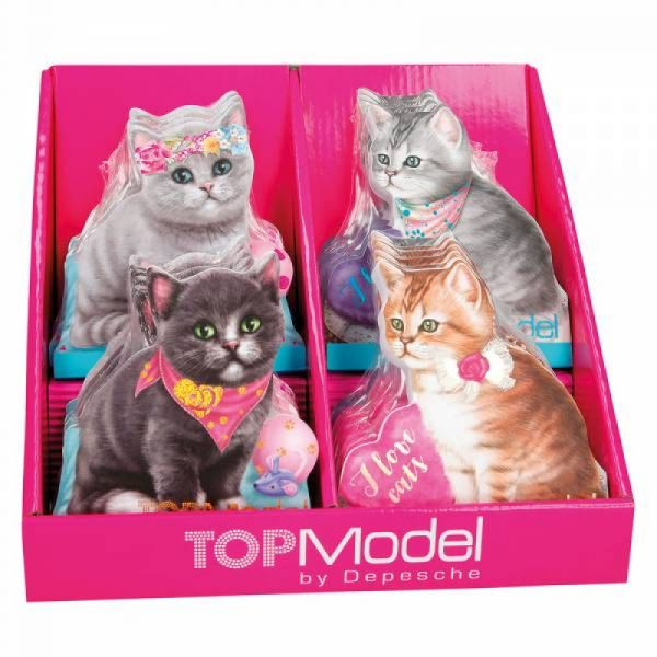 TOPModel - Notizblock Kitty