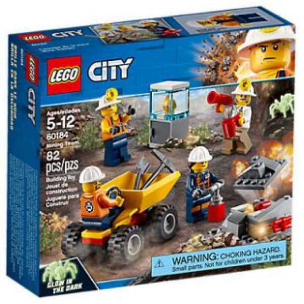 LEGO® City 60184 - Bergbauteam