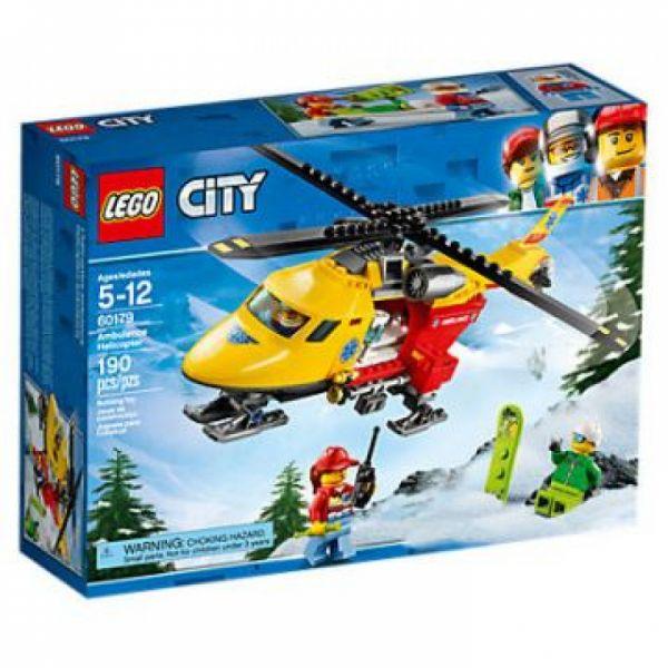 LEGO® City 60179 - Rettungshubschrauber