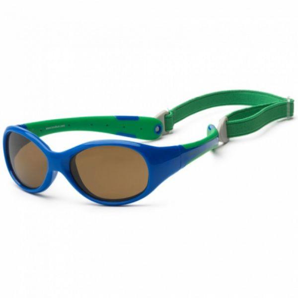 Koolsun - Kindersonnenbrille Flex Royal Green