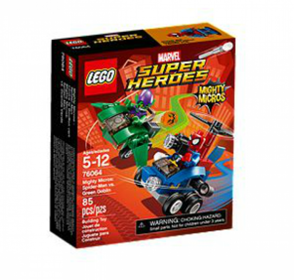 LEGO® Super Heroes 76064 - Mighty Micros: Spider-Man vs. Green Goblin