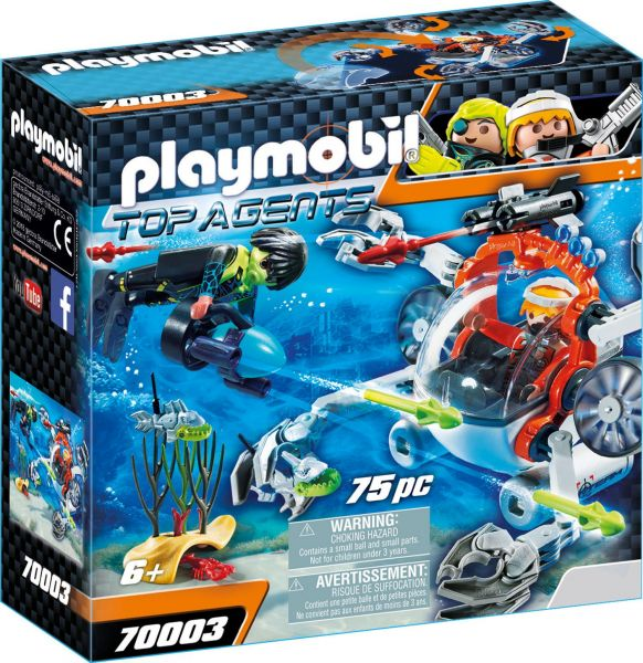 PLAYMOBIL® 70003 - SPY TEAM Sub Bot