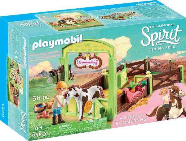 "PLAYMOBIL® 9480 - Pferdebox ""Abigail & Boomerang"""