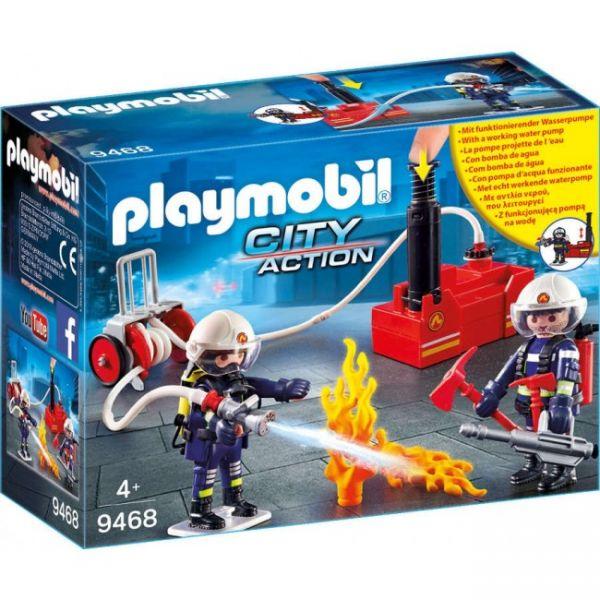 PLAYMOBIL® 9468 - Feuerwehrmänner mit Löschpumpe